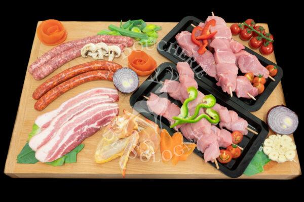 """Colis boucherie """"Petit barbecue"""" - 10 personnes"""